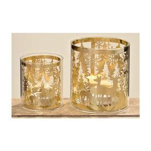 Sada 2 svícnů Kendell Gold