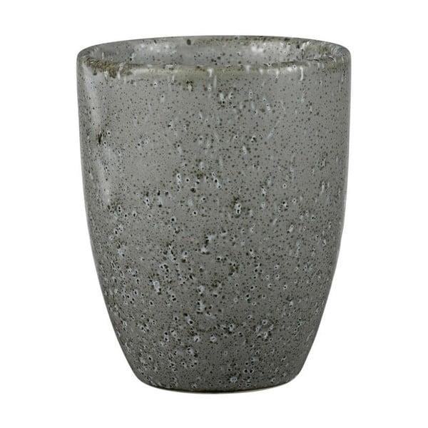 Cană din ceramică fără toartă Bitz Mensa, 300 ml, gri