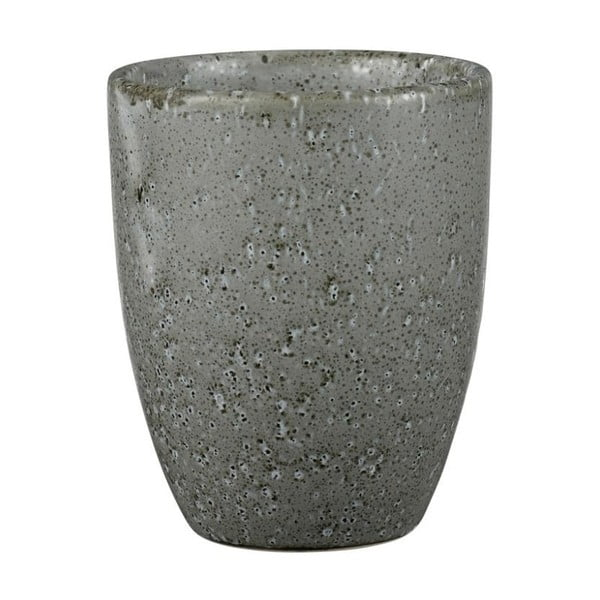 Sivý kameninový hrnček bez ucha Bitz Mensa, 300 ml