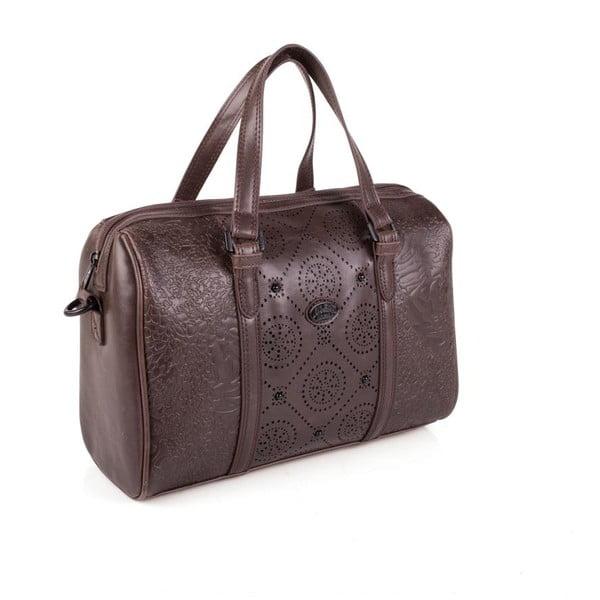 Hnědá cestovní taška Lois Decor
