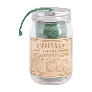 Sfoară cu suport din sticlă Esschert Design Garden Rope