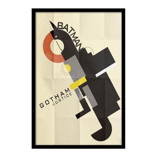 Plakát Batman Gotham, 35x30 cm