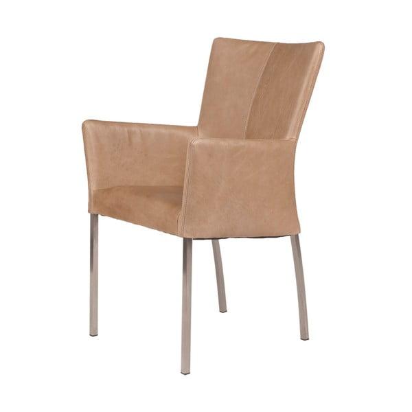 Židle s područkami Elegant Beige