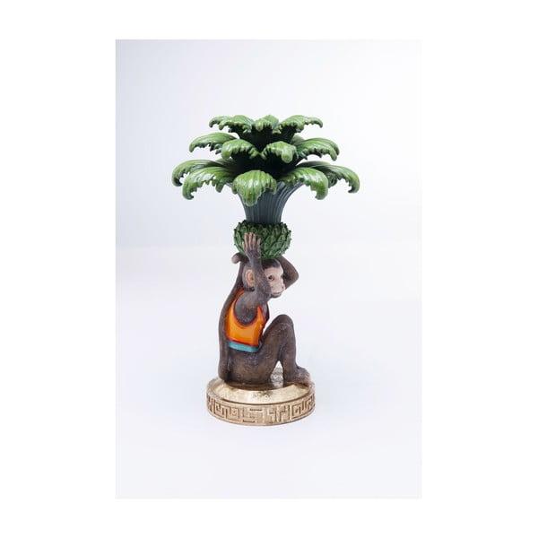 Svícen s opicí Kare Design Monkey Palm