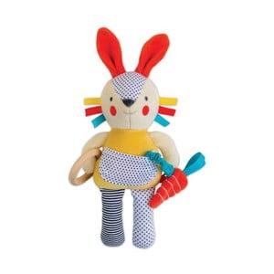 Hračka podporující rozvoj poznávacích vlastností Petit collage Bunny