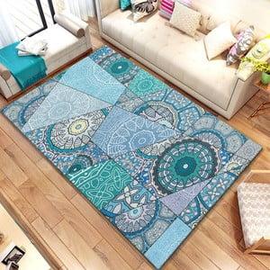 Koberec Homefesto Digital Carpets Azulo, 100 x 140 cm