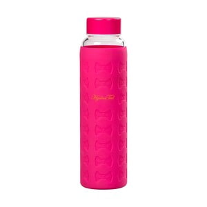 Tmavě růžová lahev na vodu Ted Baker Sleeve, 360ml