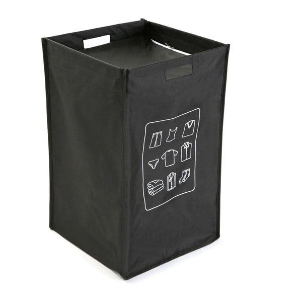 Černý koš na prádlo Versa Ropa