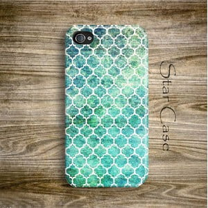 Obal na iPhone 4/4S Ocean Moroccan