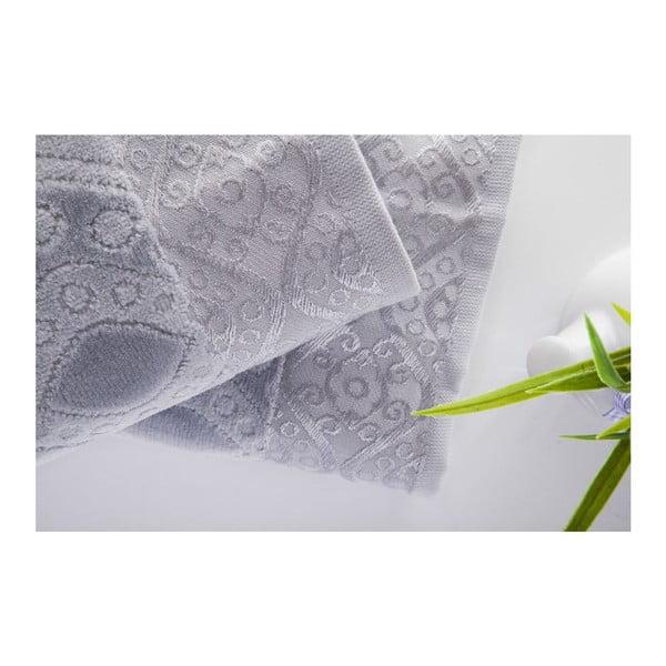Sada 2ks ručníků Sal Grey, 50x90 cm