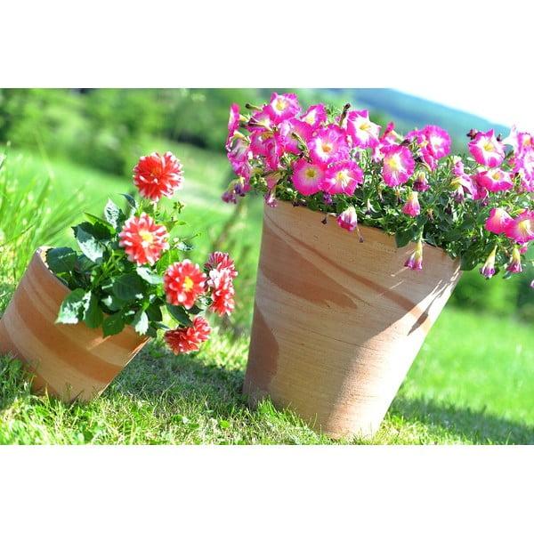 Keramický květináč Conico 43 cm, krémový