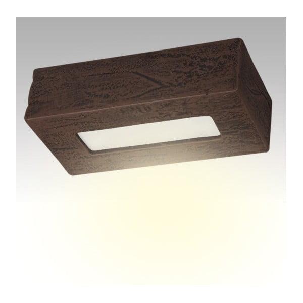 Stropní keramické světlo Cegla, wenge