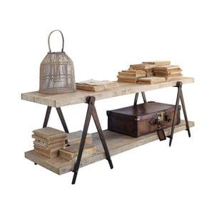 TV stolek z mangového dřeva Orchidea Milano