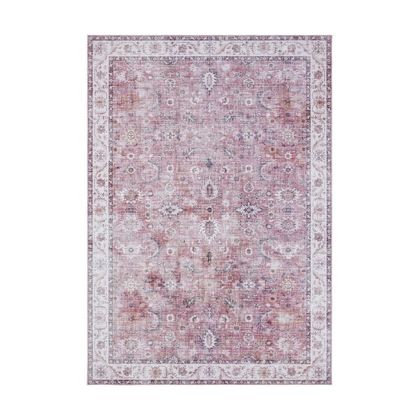 Světle červený koberec Nouristan Vivana, 120 x 160 cm