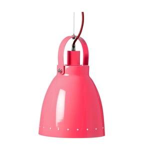 Růžová závěsná lampa Done by Deer