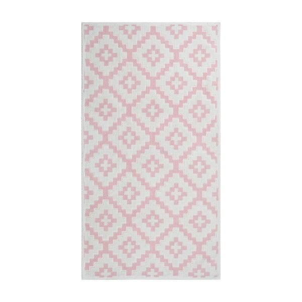 Covor rezistent Vitaus Art, 60 x 90 cm, roz pal