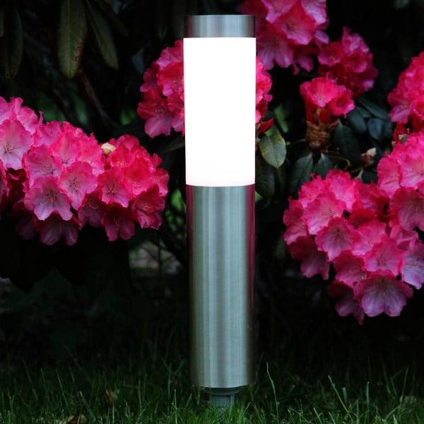 Stříbrné zahradní LED světlo Best Season Path