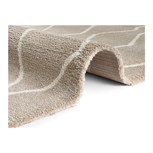 Béžovo-krémový koberec Elle Decor Glow Vienne, 160 x 230 cm