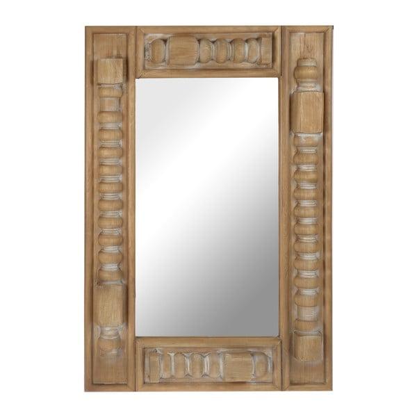 Dřevěné zrcadlo Shapes, 58x85 cm