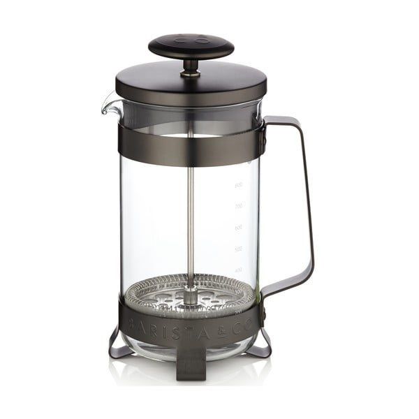 French press Barista 1 l, černý