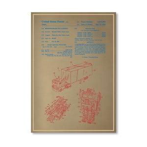 Plakát Optimus Prime, 30x42 cm