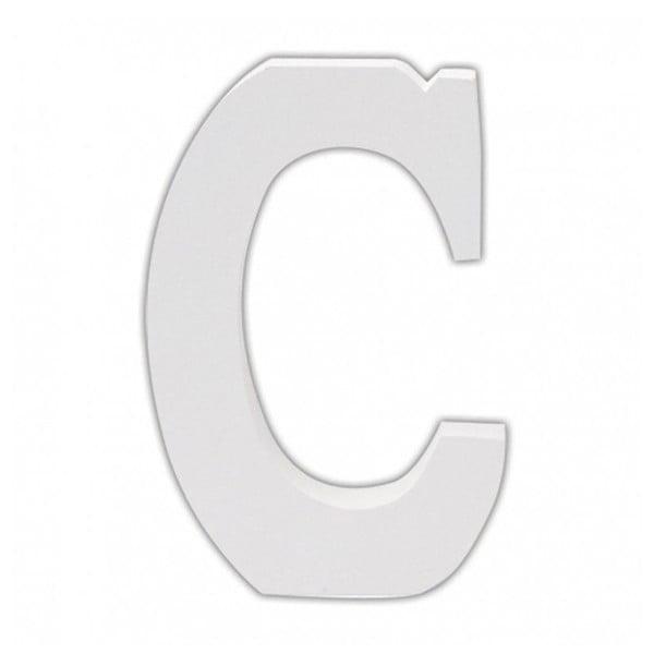 Dřevěné písmeno C