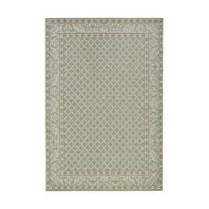 Zelený koberec vhodný do interiéru i exteriéru Bougari Royal, 115x165cm