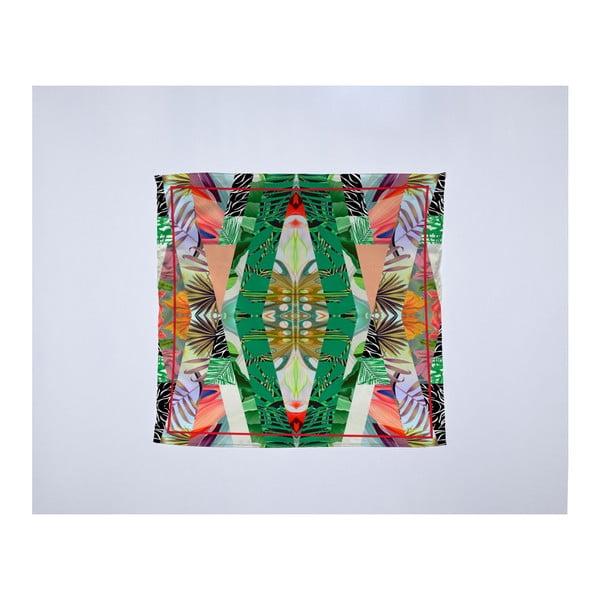 Módna šatka Madre Selva Kaleidoscopic, 55×55 cm