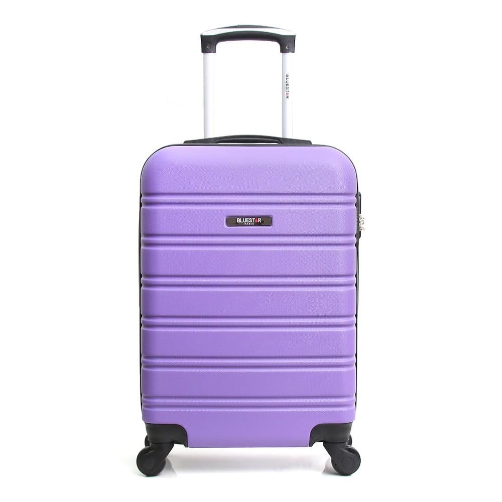 Fialový cestovní kufr na kolečkách Blue Star Bilbao, 35 l