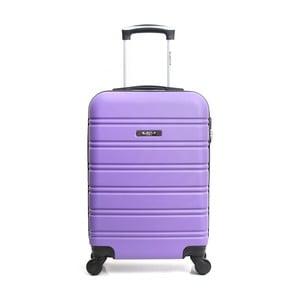 Fialový cestovní kufr na kolečkách BlueStar Bilbao, 35l
