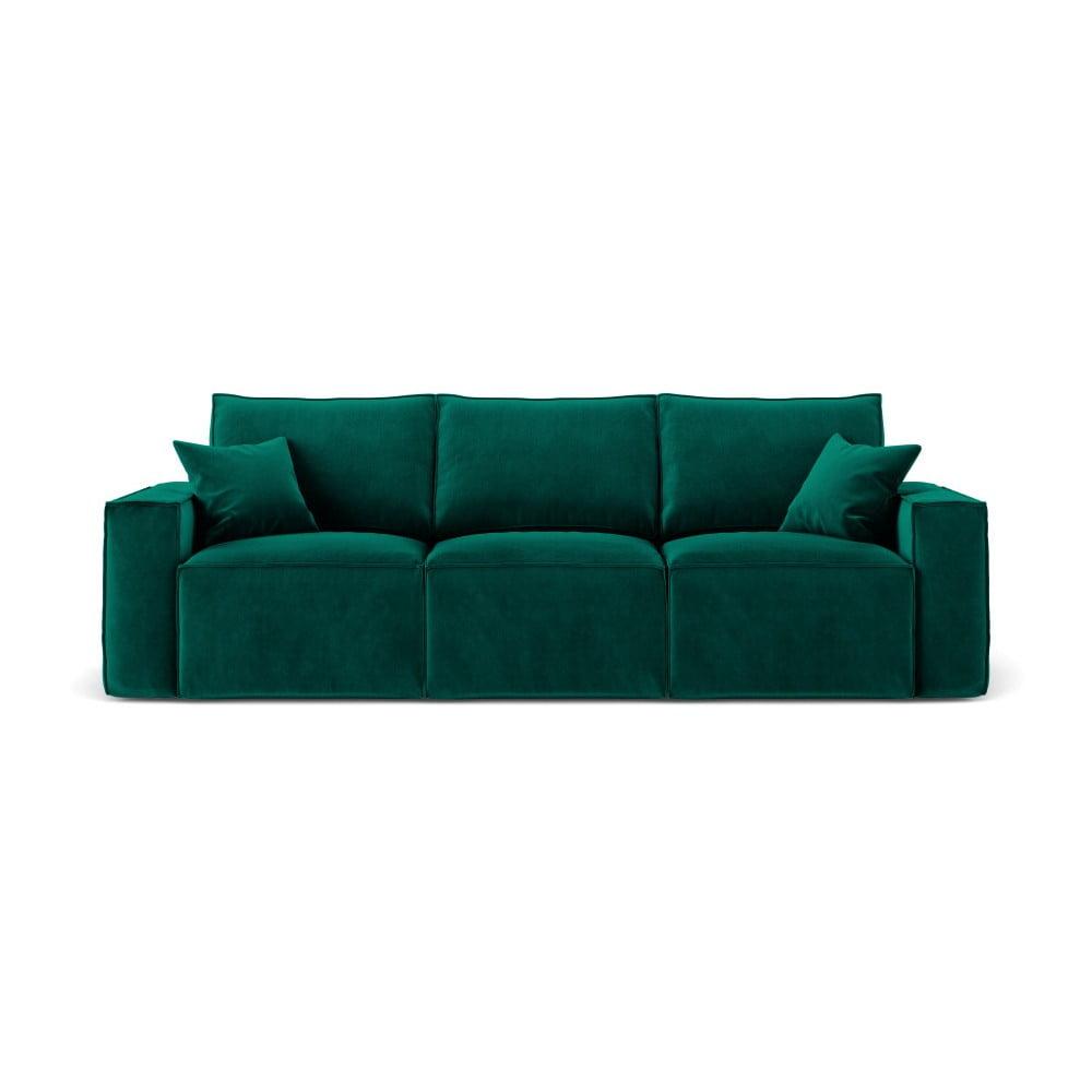 Produktové foto Tmavě zelená třímístná pohovka Cosmopolitan Design Florida