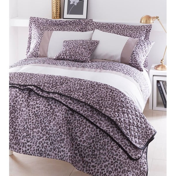 Sada přehozu přes postel a dvou povlaků na polštář Animal