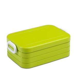 Limetkově zelený obědový box Rosti Mepal Break Midi