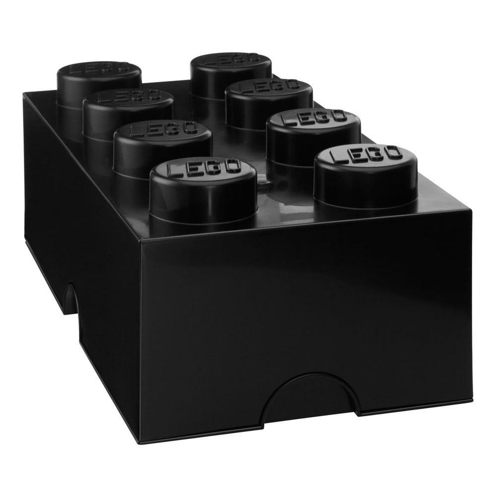 Černý úložný box LEGO®