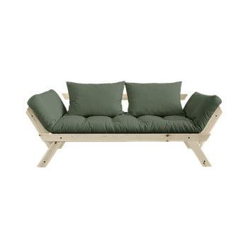 Canapea extensibilă Karup Design Bebop Natural, verde de la Karup Design