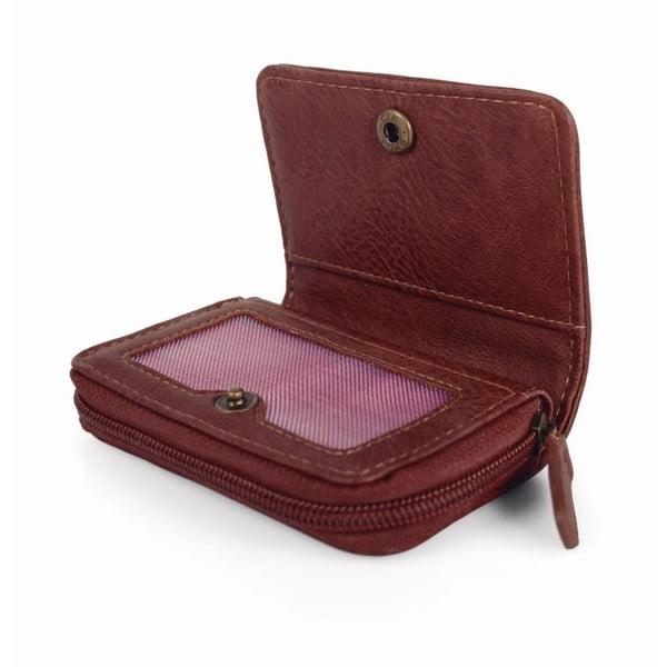 Růžovo-modrá peněženka SKPA-T, 10,5 x 7 cm