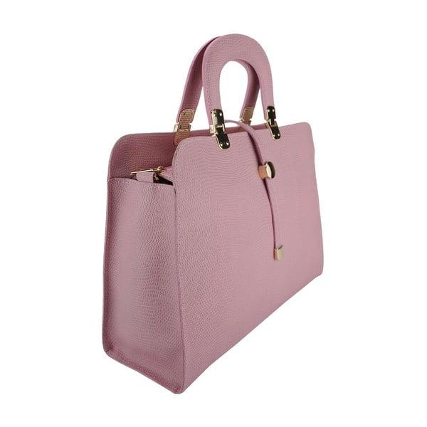 Kožená kabelka Carla Pink