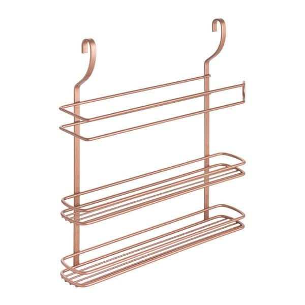 Etajeră de perete cu 3 rafturi Metaltex Copper