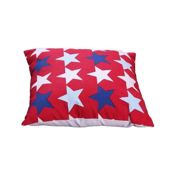 Polštář s náplní Estrella  30x40 cm, červený