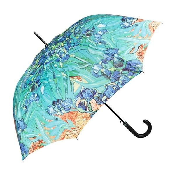 Turkusowy parasol Von Lilienfeld Irises, ø 100 cm