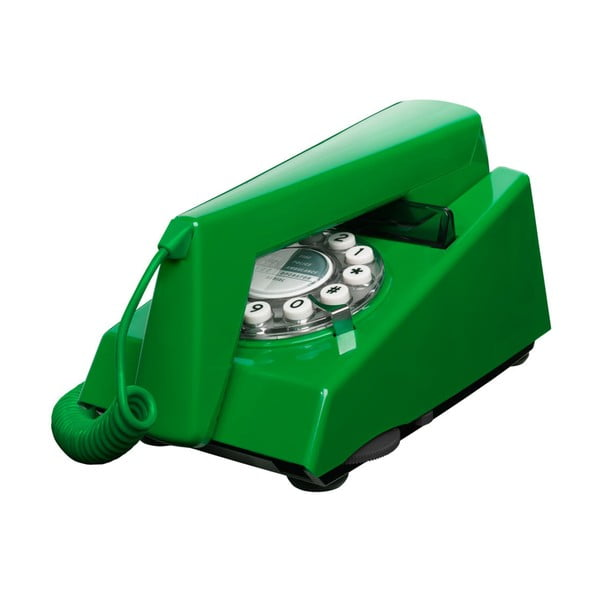 Retro funkční telefon Trim Emerald Green