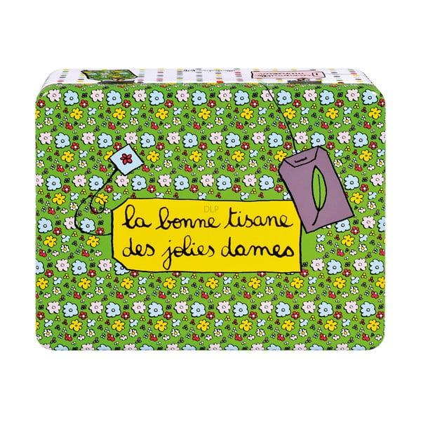 Dóza na čaj Jolies Dames, green