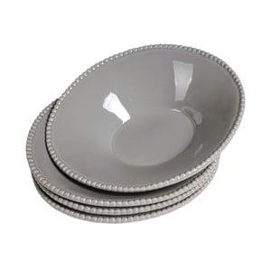 Sada hlubokých talířů Parma, 2 ks šedé