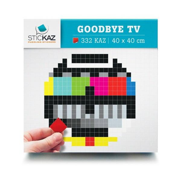 Samolepky Goodbye TV