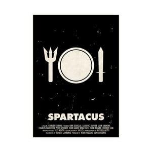 Plakát Spartakus, 29,7x42 cm, limitovaná edice