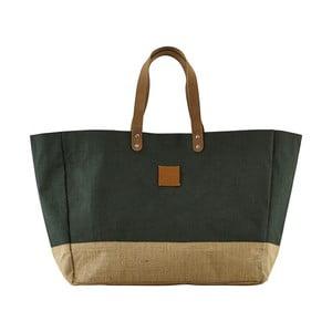Tmavě zelená kabelka HouseDoctor Carrie