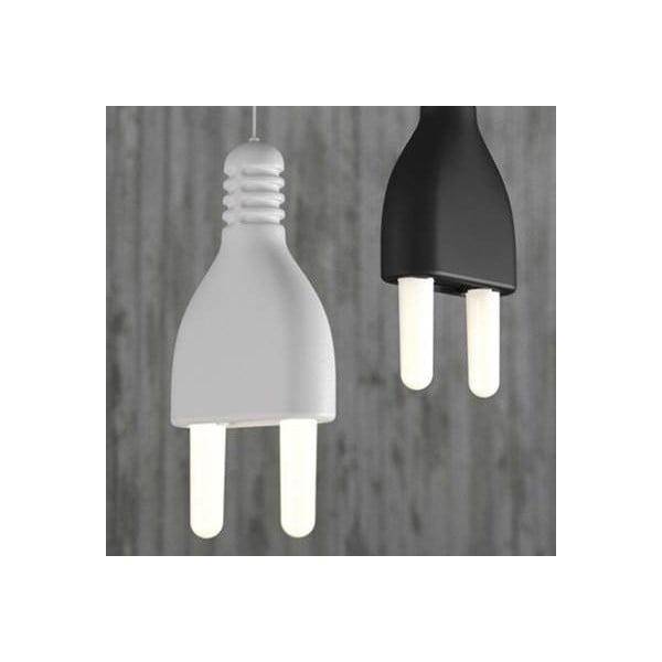 Závěsné svítidlo Plug, bílé