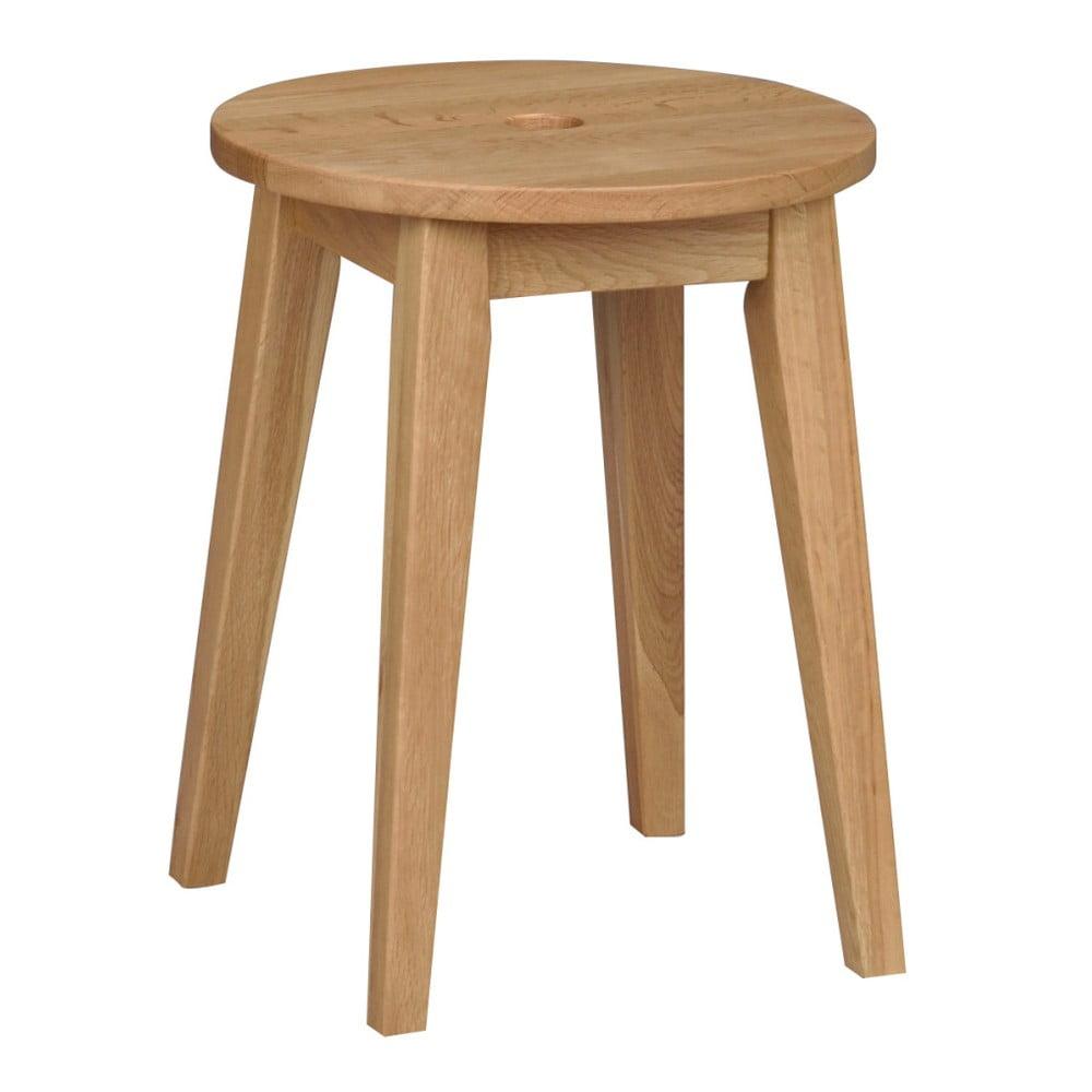 Přírodní dubová stolička Rowico Metro, výška 44 cm