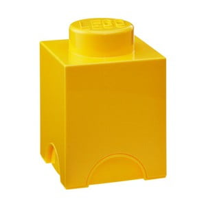Žlutý úložný boxík LEGO®