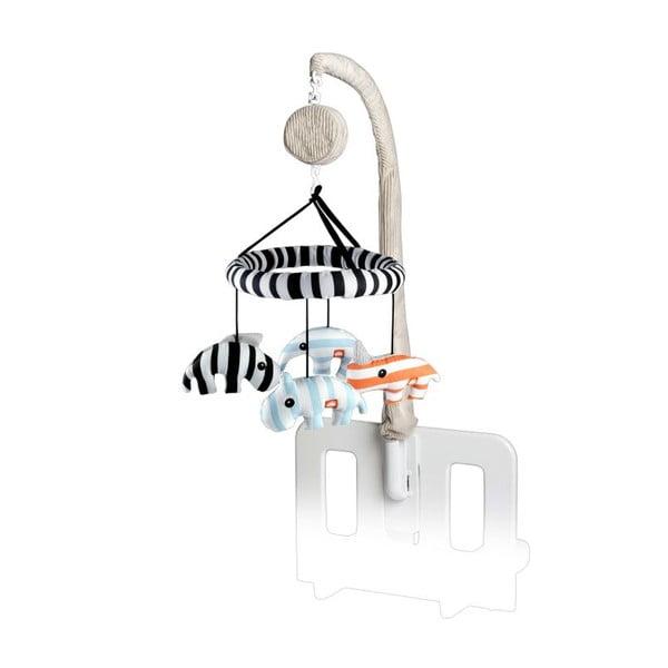 Hudební 3D Zoopreme kolotoč, modrý